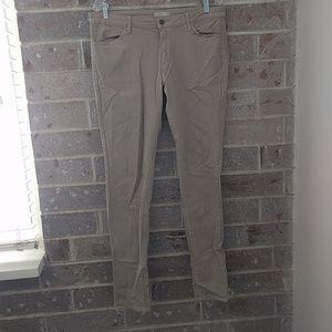 Uniqlo Leggings Pants - Khaki Jeans
